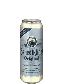 Benediktiner Helles Lager 500ml Can