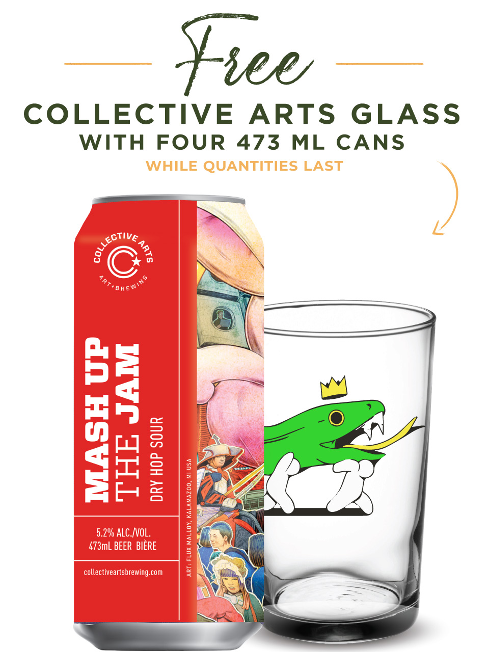 Collective Arts Mash up the Jam Hop Sour 473ml Can