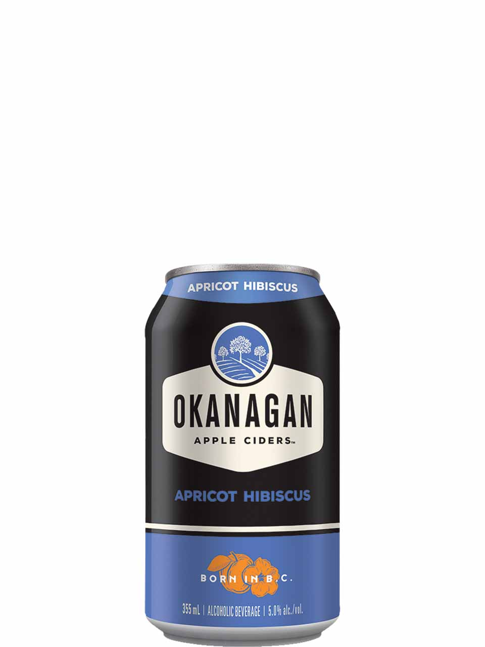 Okanagan Apricot Hibiscus Cider 6 Pack Cans