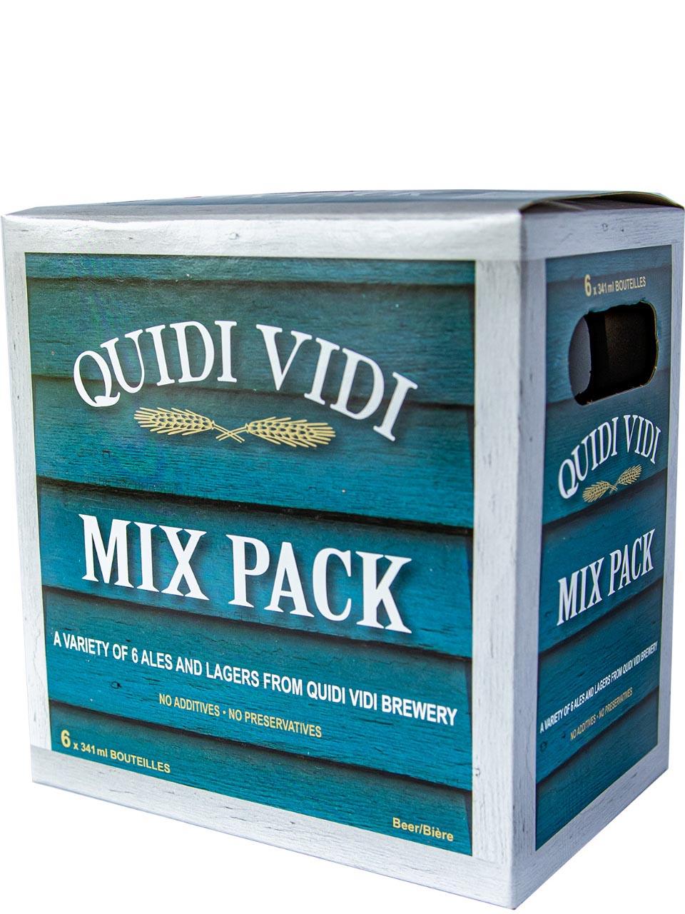 Quidi Vidi Mix Pack 6 Pack Bottles