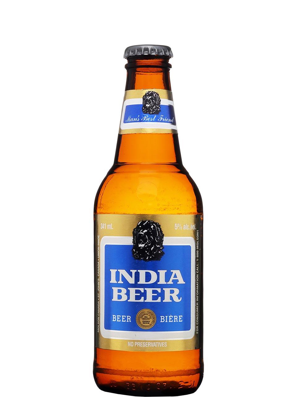 India Beer Bottles 12pk